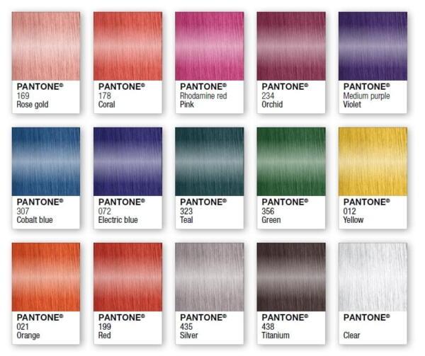 تنوع رنگ موی بلد فرامسی
