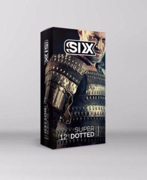 کاندوم خاردار درشت 12 عددی سیکس SIX