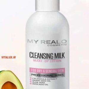 شیر پاک کن پوست خشک تا معمولی مای رئال اُ