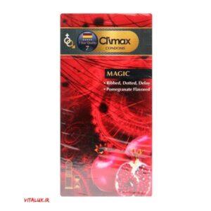 کاندوم کلایمکس MAGIC تاخیری خاردار شیار دار