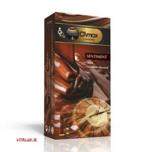 کاندوم تاخیری با اسانس شکلات کلایمکس SENTIMENT