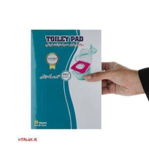 روکش یکبار مصرف توالت فرنگی(رد شونده در آب)