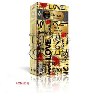 کاندوم کلایمکس میکس mix حاوی چهار محصول