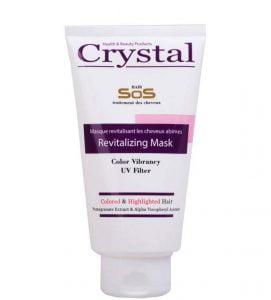 ماسک مو تیوپی کریستال تثبیت کننده رنگ مو