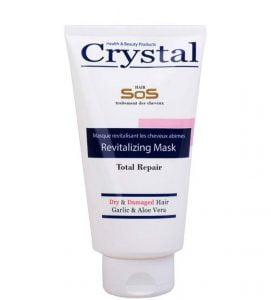 ماسک تیوپی کریستال موی خشک و آسیب دیده