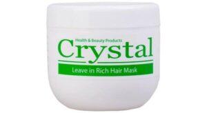 ماسک مو مغذی بدون آبکشی کاسه ای کریستال