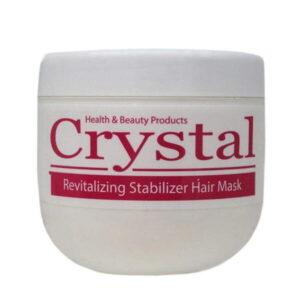 ماسک مو تثبیت کننده رنگ کریستال با آبکشی 500 میل