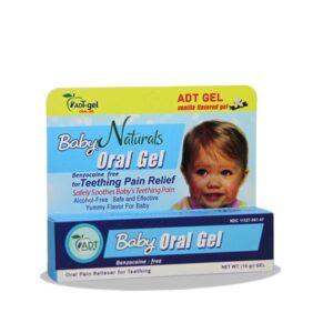 ژل دهانی کودک oral gel با طعم وانیل